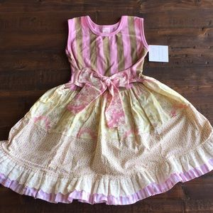 Giggle Moon Rachel Girls Dress Easter Party Sz 5